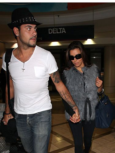 Eva Longoria is 36-years-old, and is dating 25-year old Eduardo Cruz - they only just make the seven year love rule! We hope they last, after Eva's very public divorce from ex-hubby Tony Parker