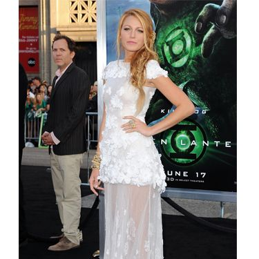 Blake Lively became a secret fave of Chanel designer Karl Lagerfeld over the summer, and while the rumours of her becoming the new face of the label came to nothing, she still managed to get a few gorgeous pieces, like this beautifully romantic Chanel Couture gown, out of the friendship anyway. Blake 'Lucky' more like!