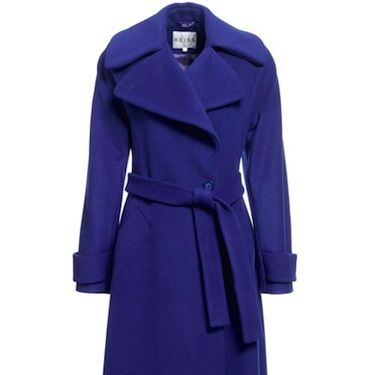 """<p>If Kate Middleton was a coat, this would be her. This double-breasted lovely has a tie belt which helps to accentuate those mini waists! Add that to the rich wool, silky texture and striking twilight-blue hue and you have a recipe for perfection</p><p>Was £345, now £195, <a href=""""http://www.reissonline.com/shop/womens/coats_and_jackets/lilac/sapphire/"""" target=""""_blank"""">Reiss</a></p>"""