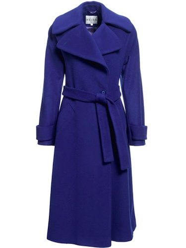 "<p>If Kate Middleton was a coat, this would be her. This double-breasted lovely has a tie belt which helps to accentuate those mini waists! Add that to the rich wool, silky texture and striking twilight-blue hue and you have a recipe for perfection</p>  <p>Was £345, now £195, <a href=""http://www.reissonline.com/shop/womens/coats_and_jackets/lilac/sapphire/"" target=""_blank"">Reiss</a></p>"