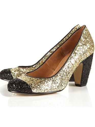 "Channel Dorothy and strut down the yellow brick road in a pair of these glittery shoes. Why? Because we don't need to tell you how Miu Miu-esque they are  <p>£55, <a href=""http://www.topshop.com/webapp/wcs/stores/servlet/ProductDisplay?beginIndex=0&viewAllFlag=&catalogId=33057&storeId=12556&productId=4339932&langId=-1&sort_field=Relevance&categoryId=277012&parent_categoryId=208491&pageSize=200""> Topshop</a></p>"