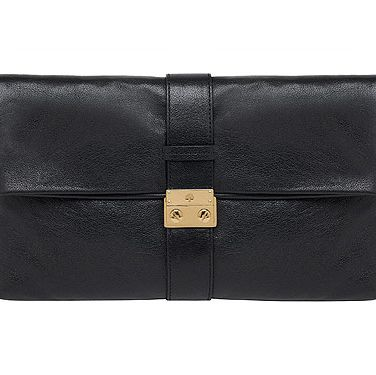 Say hello to the Harriet clutch in buffalo black, it's Mulberry's newest offering and we are in love. If it's good enough for Olivia Palermo and Kate Bosworth, it's good enough for us!