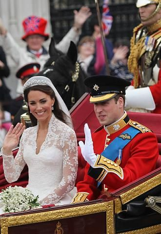 <p>It was one of the happiest events of the year - the Royal wedding! When Kate emerged in her Sarah Burton for Alexander McQueen gown the world gasped with delight. Her prince donned some serious military attire and together they were a match made in heaven - plus, we got a day's holiday - RESULT!</p>