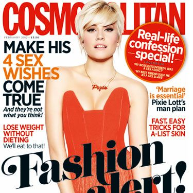 """<p>Our super-hot cover star Pixie Lott talks exclusively to Cosmo about her relationship with model boyfriend Oliver Cheshire, and admits that she has secret girl crush on Scarlett Johansson and Rihanna. """"Sexiness comes from the inside"""" she tells us, and this girl oozes it.</p><p><a href=""""http://www.cosmopolitan.co.uk/fashion/news/Pixie_Lott_Cosmo_cover_shoot_February_2012"""" target=""""_blank"""">WATCH OUR BEHIND THE SCENES VIDEO WITH PIXIE LOTT</a></p><p> </p><p> </p><p><a href=""""https://subscribe.hearstmags.com/subscribe/cosmopolitantraveluk/61283"""" target=""""_blank"""">SUBSCRIBE TO COSMO NOW!</a></p>"""