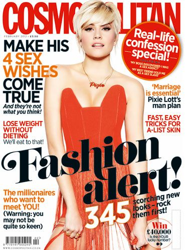 "<p>Our super-hot cover star Pixie Lott talks exclusively to Cosmo about her relationship with model boyfriend Oliver Cheshire, and admits that she has secret girl crush on Scarlett Johansson and Rihanna. ""Sexiness comes from the inside"" she tells us, and this girl oozes it.</p>