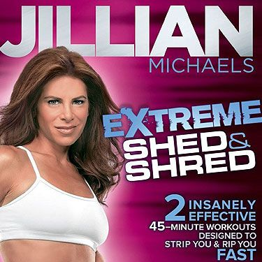 <p>When it comes to workout DVDs, you can't really go past a Jillian Michaels for the hard core factor.  This bad-ass trainer from The Biggest Loser (although she's moved on to, ahem, bigger things since!) puts you through your paces and promises big results in a short amount of time.</p>