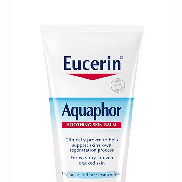 """<p>a multi-purpose balm that heals and repairs with a conditioning vitamin B derivative and soothing chamomile, £8.50 at <a href=""""http://www.boots.com/en/Eucerin-Aquaphor-Soothing-Skin-Balm-40ml_1235541/"""" target=""""_blank"""">Boots.com</a><br /><br /></p>"""