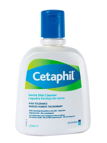 "<p>This fab cleanser only removes what's needed. Genius for sensitive skins, £9.18 at <a href=""http://www.boots.com/en/Cetaphil-Cleanser-250ml_1152664/?CAWELAID=679189480&cm_mmc=Shopping%20Engines-_-Google%20Base-_---_-Cetaphil%20Cleanser%20250ml"" target=""_blank"">Boots.com </a></p>"