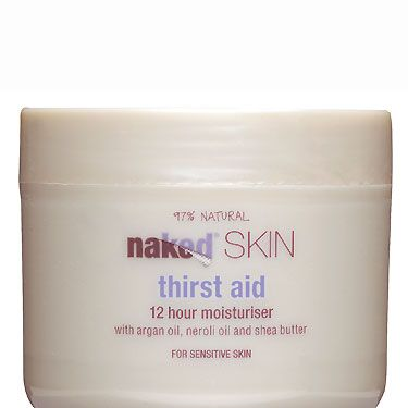 """<p>has skin nourishing argan and neroli oils and shea butter for round-the-clock moisturisation, £7.49 at <a href=""""http://www.nakedbodycare.co.uk/thirst-aid-12-hour-moisturiser.html"""" target=""""_blank"""">Naked Bodycare</a></p>"""