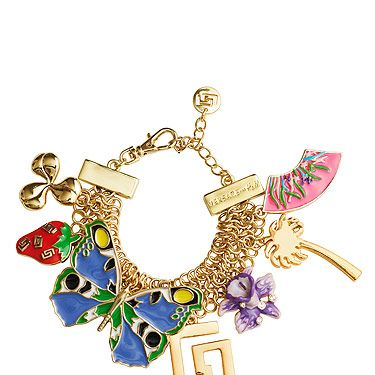 """<p>We're desperate to get our hands on the charm bracelet from the Versace for H&M Cruise Collection. We don't care how long we have to queue for...</p><p>Bracelet, £24.99,<a title=""""http://www.hm.com/gb/"""" href=""""http://www.hm.com/gb/"""" target=""""_blank""""> Versace for H&M</a></p>"""