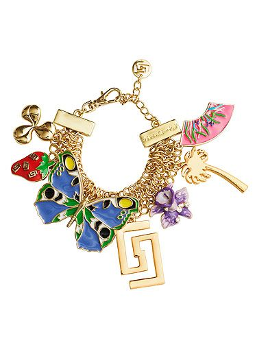 "<p>We're desperate to get our hands on the charm bracelet from the Versace for H&M Cruise Collection. We don't care how long we have to queue for...</p> <p>Bracelet, £24.99,<a title=""http://www.hm.com/gb/"" href=""http://www.hm.com/gb/"" target=""_blank""> Versace for H&M</a></p>"
