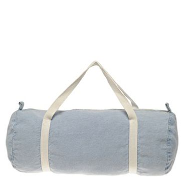 <p>As denim sets to reign the season, you'll be a real gym hottie with this chic duffle bag.</p>