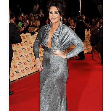 TOWIE babe Lauren Goodger chose a silver gown to grace the red carpet at the NTAs. We wonder what her ex Mark Wright thought of her show-stopper look!
