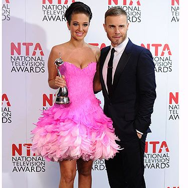 Wow! We wonder what Gary Barlow thought about Tulisa's frock? Talking of Gary, we reckon he looked super foxy at the awards, but what's with the shoes? Our dad has some like those Gaz!