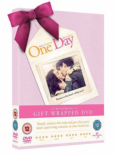 "<p>He knows you're obsessed by the book and he knows you loved the film! So surely he'll be over the moon knowing he can get you the DVD so you can watch it over and over again. Plus, the best thing about this gift is that it comes already gift wrapped at no extra cost!</p> <p>One Day DVD, £19.99, Blu-ray, £29.99, <a title=""http://www.amazon.co.uk/"" href=""http://www.amazon.co.uk/"" target=""_blank"">Amazon</a></p>"