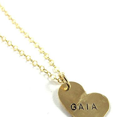 <p>You can't beat a personalised piece of jewellery to show the woman you love you really care. Tell him the next time your watching repeats of Sex and the City that Mr Big brought Carrie hers, then he can follow suit with this little beauty</p>