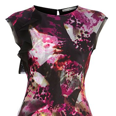 """<p>Thanks to the likes of Peter Pilotto, a strong print has captivating powers. We're loving this Karen Millen beauty which is out this week, we're going to rock it like their poster girl Tali Lennox<br />Top, £85, <a title=""""http://www.karenmillen.com/"""" href=""""http://www.karenmillen.com/"""" target=""""_blank"""">Karen Millen </a></p>"""