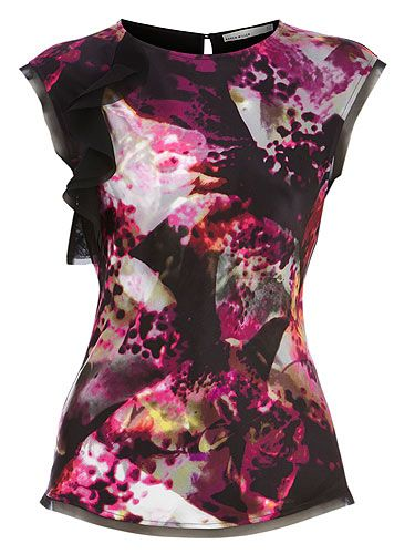 "<p>Thanks to the likes of Peter Pilotto, a strong print has captivating powers. We're loving this Karen Millen beauty which is out this week, we're going to rock it like their poster girl Tali Lennox<br />Top, £85, <a title=""http://www.karenmillen.com/"" href=""http://www.karenmillen.com/"" target=""_blank"">Karen Millen </a></p>"