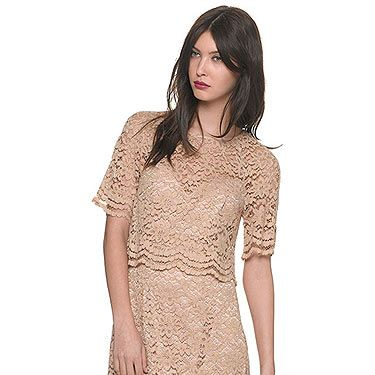 """<p>The trend for lady-like fashion is going nowhere people. Adopt a more classic look with the help of this scalloped edge tiered nude lace dress. We'll be teaming this with minimal jewellery, KMiddy hair and a pair of Jennifer Aniston style strappy sandals<br />Lace dress, £175, <a title=""""http://www.whistles.co.uk/fcp/categorylist/dept/shop?resetFilters=true#ID=id_903000057794_newin&category=newin"""" href=""""http://www.whistles.co.uk/fcp/categorylist/dept/shop?resetFilters=true#ID=id_903000057794_newin&category=newin"""" target=""""_blank"""">Whistles</a></p>"""