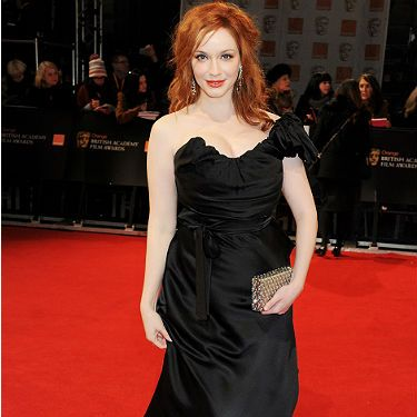 Words can't describe how much we love Christina Hendricks - just look how gorgeous she looks at the 2012 BAFTAs. Dressed to kill in Vivienne Westwood (natch!) and a bedazzled clutch, she definitely makes our best dressed list