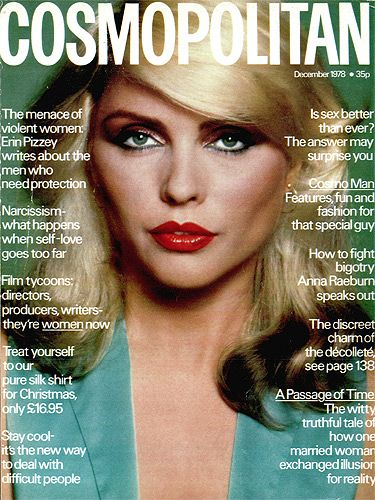 There's nothing more gorgeous than Debbie Harry at her prime, is there? The hair. The eyes. The lips. THE GLAMOUR!
