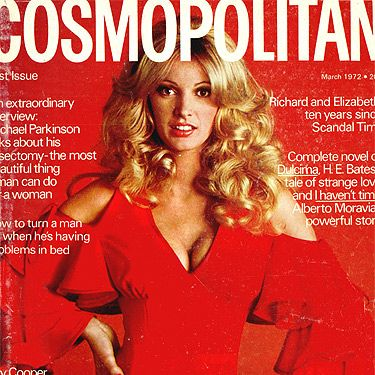 March 1972 was a red-hot issue for us, with big blonde curls and enviable curves filling up the inches of cover space.