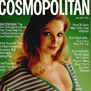 We're green with envy over our 1973 cover girl's style. Love it!