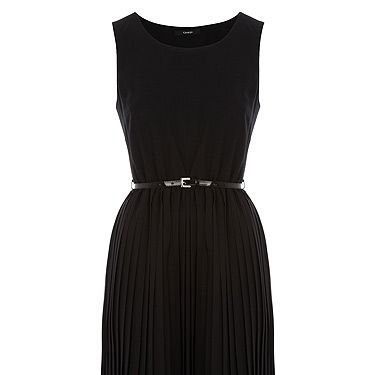 """<p>Betcha thought this dress was designer, right? Wrong! It's from the most stylish supermarket in town: ASDA. We won't tell anyone if you don't...</p><p>Pleated dress, £20, <a title=""""ASDA"""" href=""""http://direct.asda.com/george/womens/evening-dresses/belted-pleat-dress/GEM147102,default,pd.html"""" target=""""_blank"""">ASDA</a></p>"""