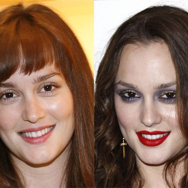 <p>We heart Leighton's brave approach to makeup (not everyone can pull off a heavy eye and strong lip) but there's a lot to be said for her down days, when she takes an innocent, fresh-faced approach to beauty.</p>