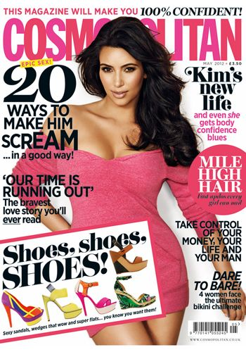 "<p><strong>4 Apri </strong></p> <p>The May issue of Cosmo hits shelves officially on Wednesday and we've got another corker of an issue for you. This month the gorgeous Kim Kardashian shares her life lessons with us and we talk body confidence. We also tackle a very difficult subject as we continue our #IusetheFword campaign with our shocking article on rape myths that people still believe.</p> <p><a href=""http://www.cosmopolitan.co.uk/lifestyle/cosmo-reclaim-feminism/cosmo-campaign-for-equal-pay"" target=""_blank"">#IusetheFword: Sign our petition for equal pay </a></p> <p>Alongside pages and pages of beautiful fashion and beauty, we've also got columns from our new Sex and the Single Girl and Sex and the Not So Single Girl, as well as our Catwalk to Curvy queen talking about how to dress to embrace your shape, and much, much more.</p> <p><a href=""http://www.cosmopolitan.co.uk/lifestyle/entertainment/may-cosmopolitan-out-now"" target=""_blank"">Take a sneak peek at what's inside the May issue here</a></p> <p><a href=""http://www.cosmopolitan.co.uk/love-sex/sex-blog/sex-blog-info#author_id37890"" target=""_blank"">Check out our Sex & the Cosmo girls blog</a></p>"