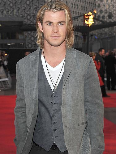 <p>Hemsworth fans will be pleased to know that there's a triple dose of Chris' hot bod heading our way. Whether you catch him looking rugged and wielding a sword in <em>Snow White And The Huntsman</em>,  as a sexy superhero in <em>Avengers Assemble</em> or as a terrified horror genre victim in <em>Cabin In The Woods</em>, one thing is for sure; the future is bright, the future is Hemsworth.</p>