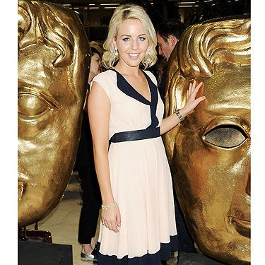 <p>The Only Way is Essex star Lydia Bright showed up for the Arqiva British Academy Television Awards Nominees Party looking gorgeous in her pretty frock. Having had her makeup applied by the professionals at MAC, and diamonds courtesy of Carat, she was good to go</p>