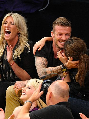 <p>We've never been more jealous of Victoria Beckham. Not only does she get to snog David Beckham (on a daily basis!), she also gets to kiss him on the kiss-cam too!</p>