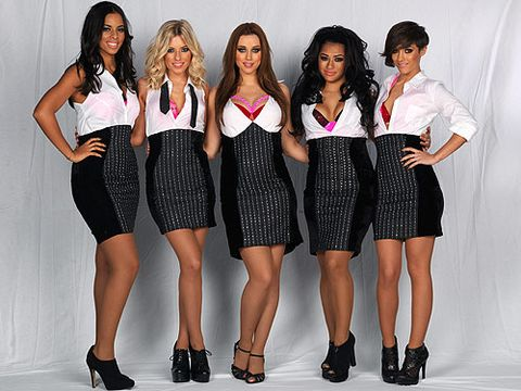 "<p>The Saturdays definitely helped heat things 'Up' in December 2011; those oh-so-sexy secretary outfits would have even made the girls on Mad Men blush! And, despite the fact they all have different body shapes, Rochelle, Mollie, Una, Vanessa and Frankie all ROCKED that look... </p> <p><a title=""http://www.cosmopolitan.co.uk/lifestyle/entertainment/june-cosmopolitan-out-now"" href=""http://www.cosmopolitan.co.uk/lifestyle/entertainment/june-cosmopolitan-out-now"" target=""_self"">CAN'T GET ENOUGH OF ROCHELLE AND MOLLIE? CHECK OUT YOUR LATEST COPY OF COSMO, AVAILABLE NOW!</a></p>"