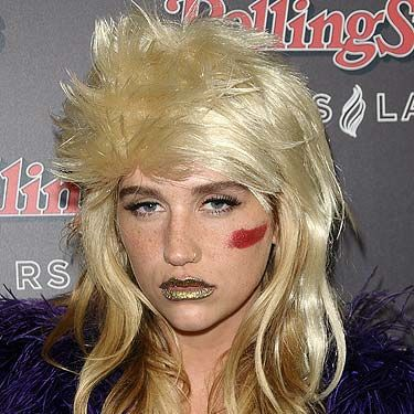 <p>K$sha likes to stand out from the crowd (who else puts a $ in their name!) so it came as no surprise to see her sporting a questionable hairstyle. The quirky singer turned up to the Rolling Stone after-party for the American Music Awards with a mullet on her head</p>