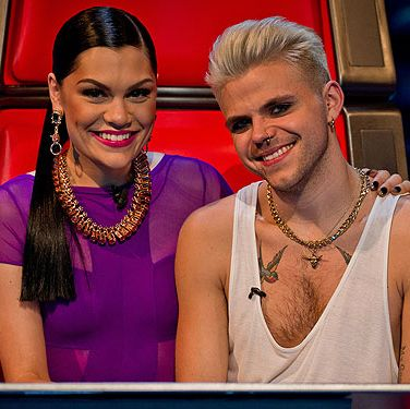 <p>Oh what a dramatic pair these two make. We can't wait to watch Jessie J perform with her finalist Vince Kidd on the final, we reckon it's going to be a massive deal</p>