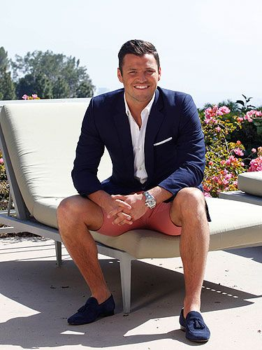 "<p>Talking about his new show, Mark Wright's Hollywood Night, Mark said: ""Me and the boys are going to smash it, I've got lots of things lined up for this holiday is not just about partying. I want to explore LA, discover what it has to offer and I've got a few cheeky surprises up my sleeve also."" That's great Mark, but we'd happily watch you sunbathe on that lounger you're sitting on...</p>"