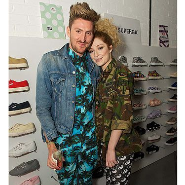 <p>Henry Holland has a flurry of showbiz pals, so he had nothing to worry about when it came to his Superga launch party this week. Girls Aloud's Nicola Roberts came to support her bestie, and don't they make a lovely little twosome!</p>