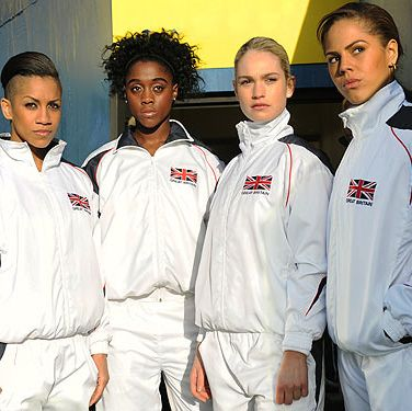 <p>With the London Olympics drawing so close we can almost smell the gold-medal winning sweat, there's no better way to get into the spirit than with sporty Brit flick, Fast Girls.</p>