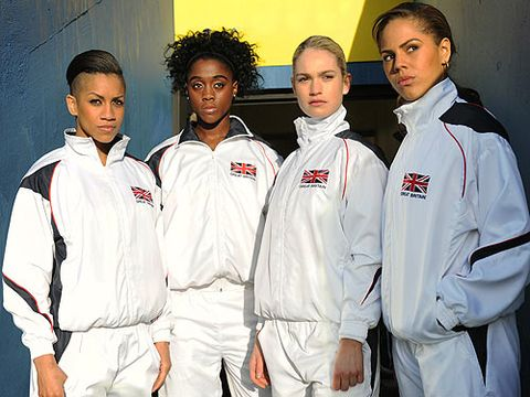 """<p>With the London Olympics drawing so close we can almost smell the gold-medal winning sweat, there's no better way to get into the spirit than with sporty Brit flick, Fast Girls.</p> <p>The story of street-smart Shania (Lenora Crichlow) and wealthy Lisa (Lily James) follows two kick-ass athletes who clash on the track. But as they work towards qualifying for a major race it soon becomes clear that their greatest obstacles is their rivalry. A tale of fierce competition and determination it's got girl power in spades and even a sprinkling of eye candy in the form of Merlin cutie Bradley James, who plays the character Carl.</p> <p>Adulthood genius Noel Clarke (Doctor Who) also stars, making this both a true celebration of British talent and sport. Go us!</p> <p>Catch Fast Girls in cinemas, out now!</p> <p><a title=""""http://www.cosmopolitan.co.uk/lifestyle/diet-fitness/10-minutes-with-fast-girls-film-star-lily-james-about-sport-and-fitness"""" href=""""http://www.cosmopolitan.co.uk/lifestyle/diet-fitness/10-minutes-with-fast-girls-film-star-lily-james-about-sport-and-fitness"""" target=""""_self"""">READ COSMO'S INTERVIEW WITH LILY JAMES</a></p> <p><a title=""""http://www.cosmopolitan.co.uk/lifestyle/cosmo-fitness-blog/leanne-bayley-from-slow-girl-to-fast-girl-olympic-athlete-jeanette-kwakye?click=main_sr"""" href=""""http://www.cosmopolitan.co.uk/lifestyle/cosmo-fitness-blog/leanne-bayley-from-slow-girl-to-fast-girl-olympic-athlete-jeanette-kwakye?click=main_sr"""" target=""""_self"""">SEE WHAT HAPPENED WHEN WE TRAINED WITH THE FAST GIRLS TRAINERS</a><br /><br /></p>"""