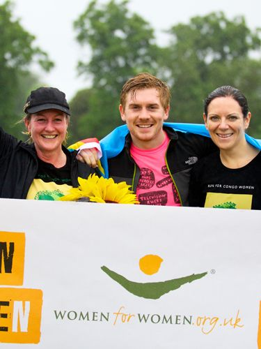 "<p><strong><a href=""http://www.womenforwomen.org.uk/help-women/run-for-congo-women-london.php"" target=""_blank"">Sign up now</a> for the 10k run on 2 September 2012 in London's Regent's Park</strong></p> <p>Looking for the perfect incentive to get fit this summer? Sign up now for the Run for Congo Women 10k event.</p> <p>We were blown away by Chris Jackson, our Ultimate Man of the Year, who ran the most dangerous marathon in the world in the Democratic Republic of Congo to raise money for women in the war ravaged Eastern provinces.</p> <p>Over the Queen's jubilee weekend, a group of dedicated supporters also got together and ran 10k to help these women to rebuild their lives. ""It is amazing to see over fifty people get up and push themselves on a cold, wet Sunday morning to help support women in the Congo at a time when the tension there is heightening,"" said Chris earlier this month<em>. </em>You can sign up for the September race with plenty of time to get training and raise money for this wonderful cause.</p> <p>""Taking part in Run for Congo Women is a practical way that I can help raise awareness of what is happening in the Congo, where rape is used as a weapon of war. Women for Women International's one year training programme gives Congolese women the tools to help build a better life for themselves and their families,"" says nutritionist, Dr Sarah Schenker.</p> <p>Feeling inspired? So are we. </p> <p> </p>"