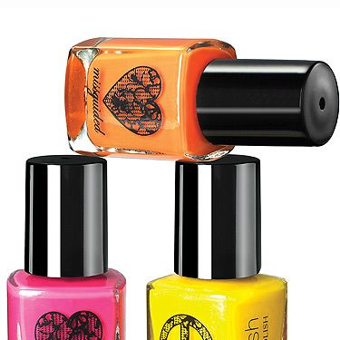 <p>With this month's issue you can pick up a naughty neon nail varnish from Missguided! Worth £5.99, these nail varnishes are perfect for summer festivals and beach getaways…<br /> <br />*Not available with subscription copies or in some areas</p>