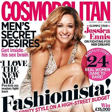 """<p>Super athlete Jessica Ennis tells Cosmo how she bounced back from crushing disappointment to take on her life as a champion. Turn to page 47 to find out how Jessica beat her career set backs.<br /> <br /><a title=""""http://www.cosmopolitan.co.uk/men/15-hot-london-olympics-2012-athletes-pictures?click=main_sr"""" href=""""http://www.cosmopolitan.co.uk/men/15-hot-london-olympics-2012-athletes-pictures?click=main_sr"""" target=""""_blank"""">CHECK OUT THESE HOT OLYMPIANS</a></p>"""