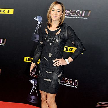 <p>Jessica looks simply stunning at the BBC Sports Personality of the Year 2011. Wearing her trademark LBD, Jessica adds interest with the intricate cut-out detailing and the addition of a ruby red clutch and metallic courts. Despite not making the shortlist, we certainly think she's a winner in this classy ensemble!</p>