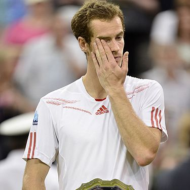 Andy Murray came THIS close to becoming the champion at Wimbledon 2012, but he was beaten to the trophy by Roger Federer. Andy, however, definitely won at the speeches&#x3B; breaking down into heartfelt sobs of gratitude towards his supporters (and disappointment at coming second!) it seems as if Murray's tears are the only thing worth talking about this Wimbledon 2012.