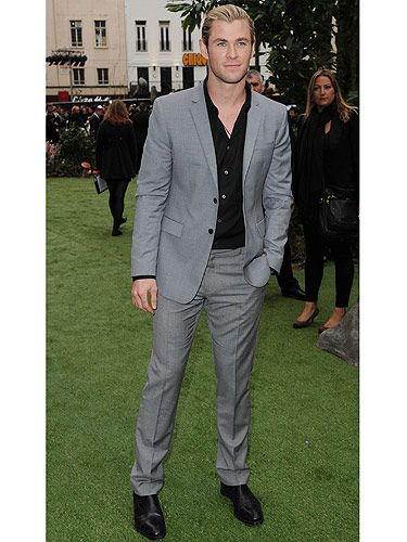 Celeb men in suits - Christian Grey style