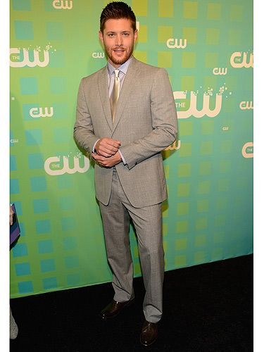 <p>Fans of TV show Supernatural will know Jensen Ackles for his role in that, but for the rest of you, he might not be so familiar. Don't worry though, we doubt you'll forget him now, he rocks a Christian Grey suit pretty well, dontcha think?</p>