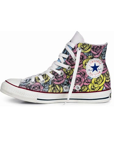 "<p><strong>Schuh Oxford Circus until 10 August 2012</strong></p> <p><a href=""http://www.schuh.co.uk/womens/converse"" target=""_blank"">Schuh</a> are giving you the exclusive opportunity to strut your stuff in your own personalized Converse.</p> <p>Whether you like your All Stars high or low buy them at Schuh, Oxford Circus, and have them printed, laced and studded in store for up to £25.</p> <p>The price of studs starts at 50p each but there's also a range of amazing designs that you can have printed in the colour of your choice.</p> <p>Fancy some inspiration from the Cosmo team?</p> <p>Deputy Editor, Suzy Cox went for a turquoise cassette tape print over a low-top grey Converse. Cosmo's Editor, Louise Court had an antique wallpaper design in black on white trainers and Catwalk to Curvy columnist, Laura Puddy, opted for black wallpaper on pink high-tops with gold star studs running down the back. 
