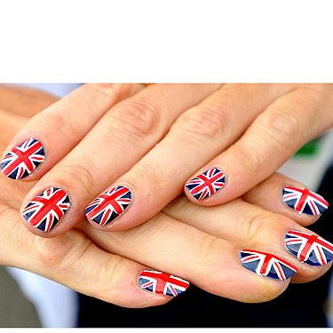 <p>There's no better excuse for fab nail art like team GB's Alison Williamson then when the world is focusing on your fingertips. Our Olympic archer showed her patriotic spirit with these flag-tastic nails that have got us booking into our local nail salon this lunchtime!</p>
