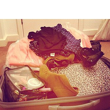 <p>Packing for New York Fashion Week and doing the fashion maths: 3 days + 7 pairs of shoes = way too many clothes. And what?</p>
